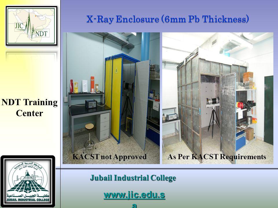 X-Ray Enclosure (6mm Pb Thickness)