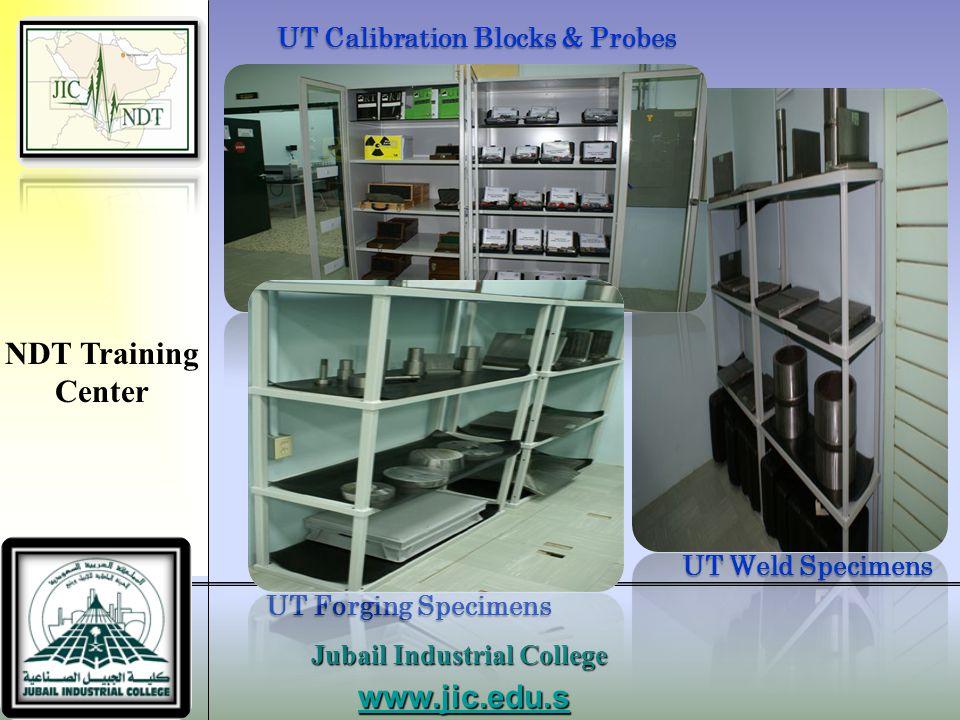 UT Calibration Blocks & Probes