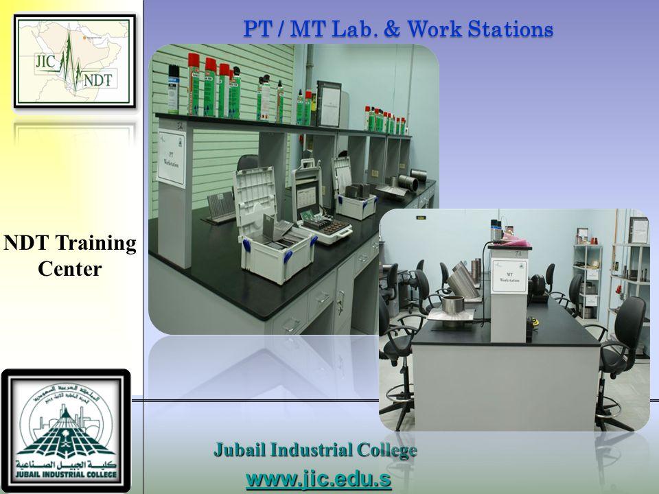 PT / MT Lab. & Work Stations