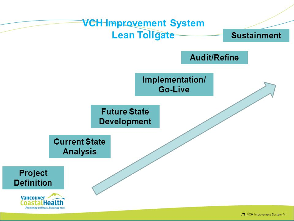 VCH Improvement System Future State Development Current State Analysis