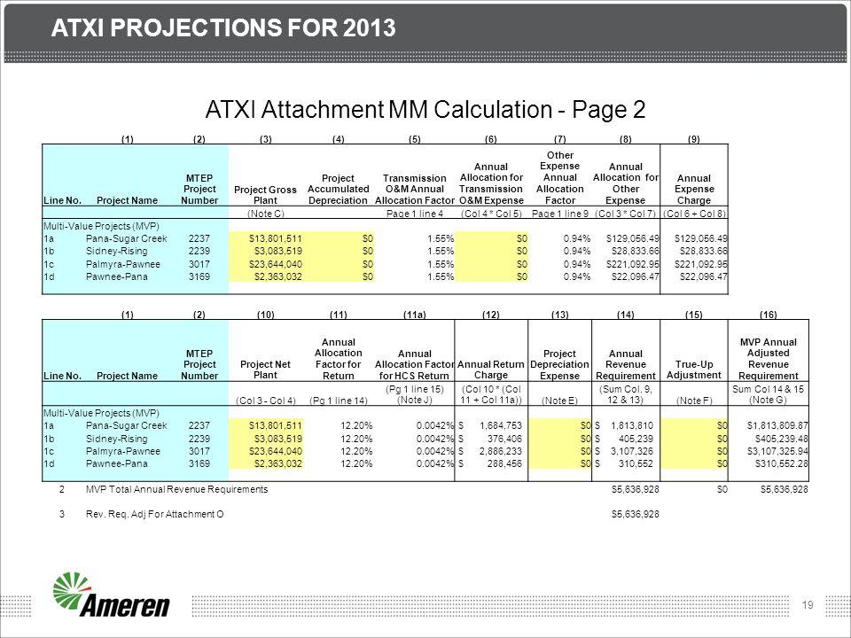 ATXI Attachment MM Calculation - Page 2
