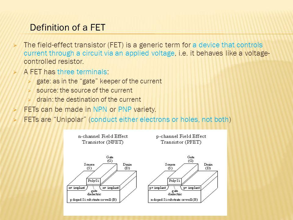 Definition of a FET