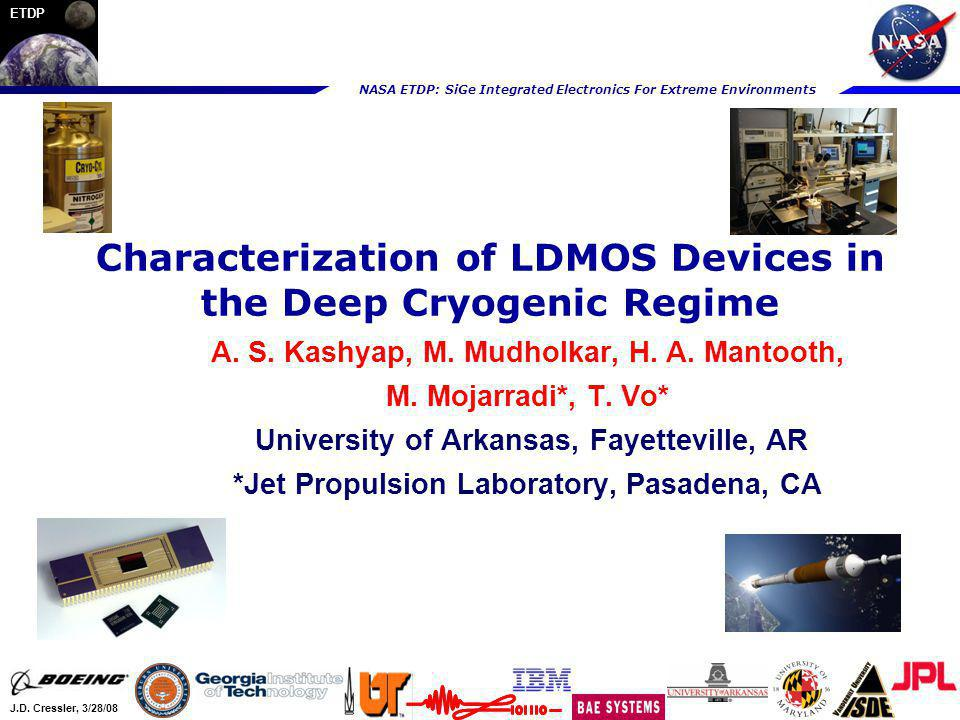 Characterization of LDMOS Devices in the Deep Cryogenic Regime