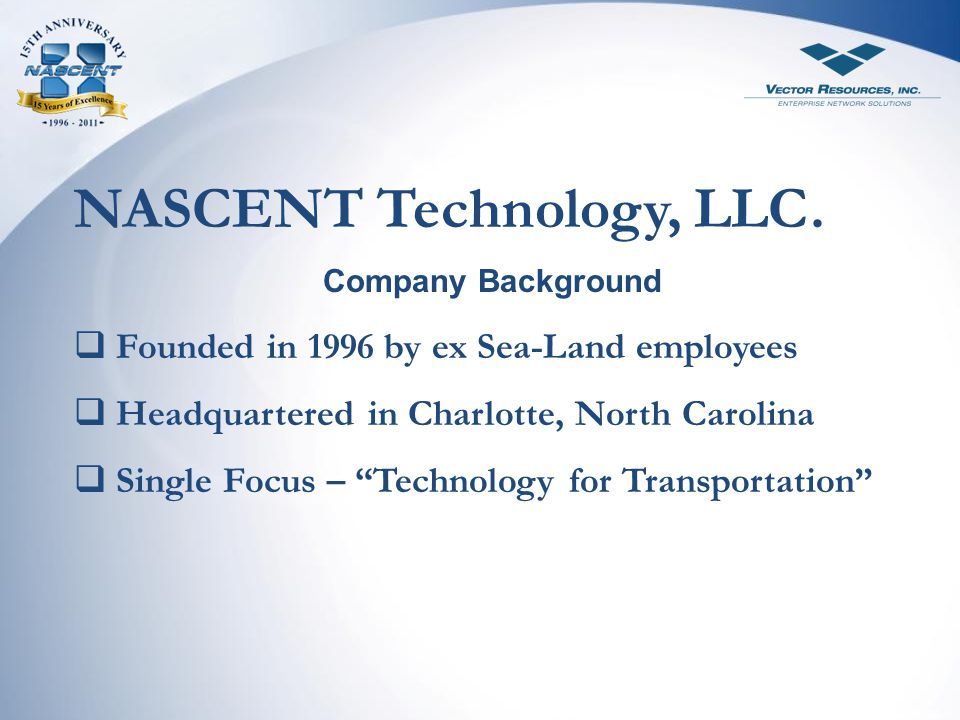 NASCENT Technology, LLC.