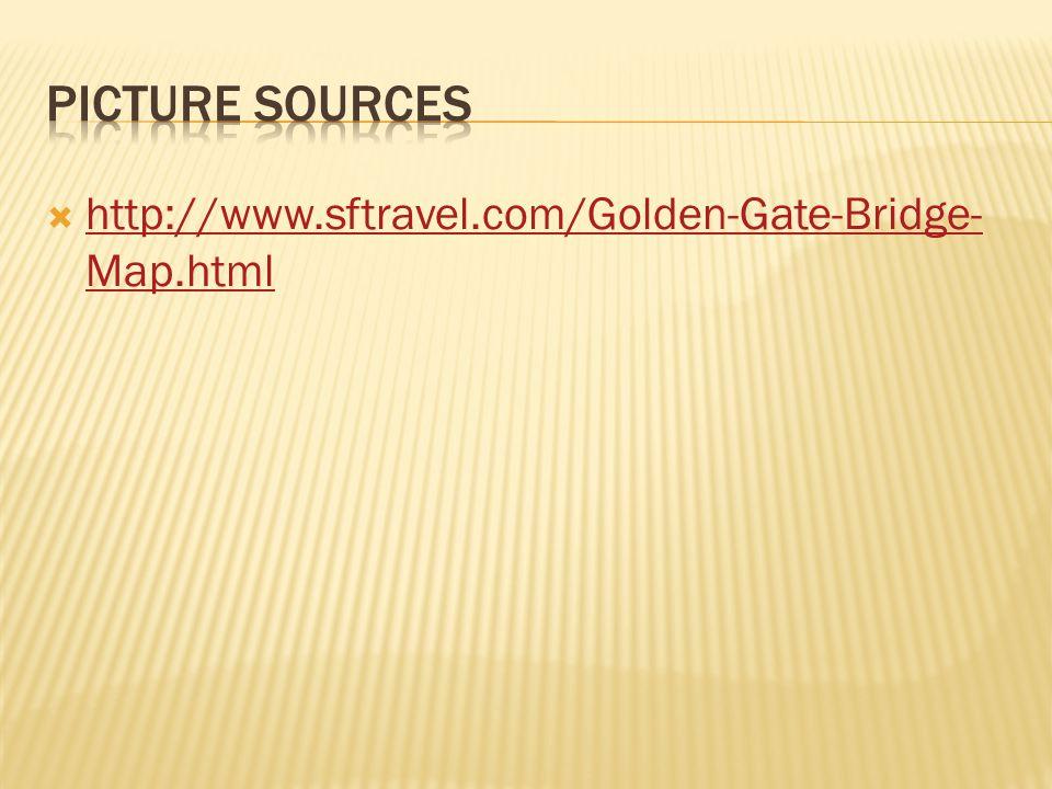 Picture sources http://www.sftravel.com/Golden-Gate-Bridge-Map.html