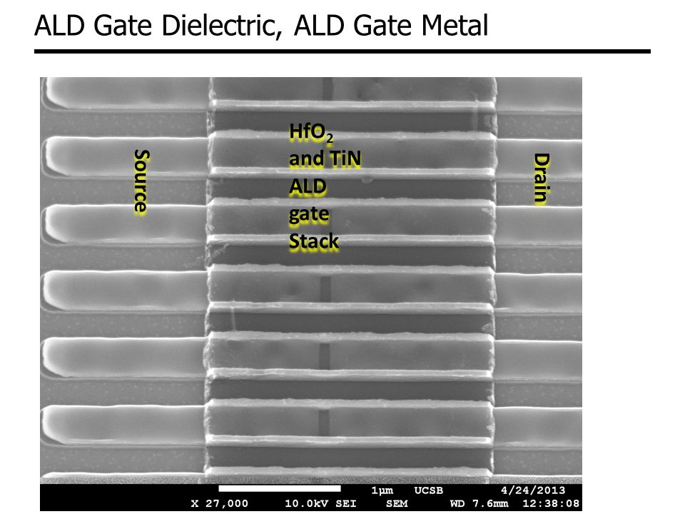 ALD Gate Dielectric, ALD Gate Metal