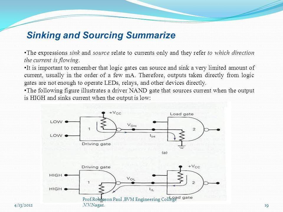 Sinking and Sourcing Summarize