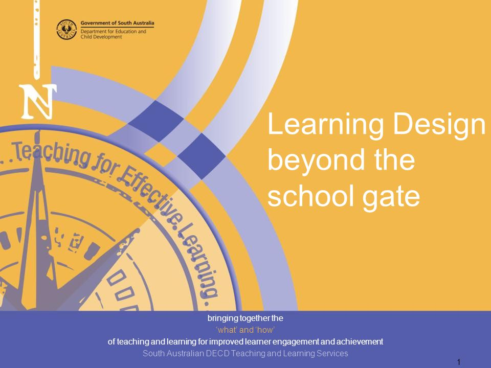 Learning Design beyond the school gate