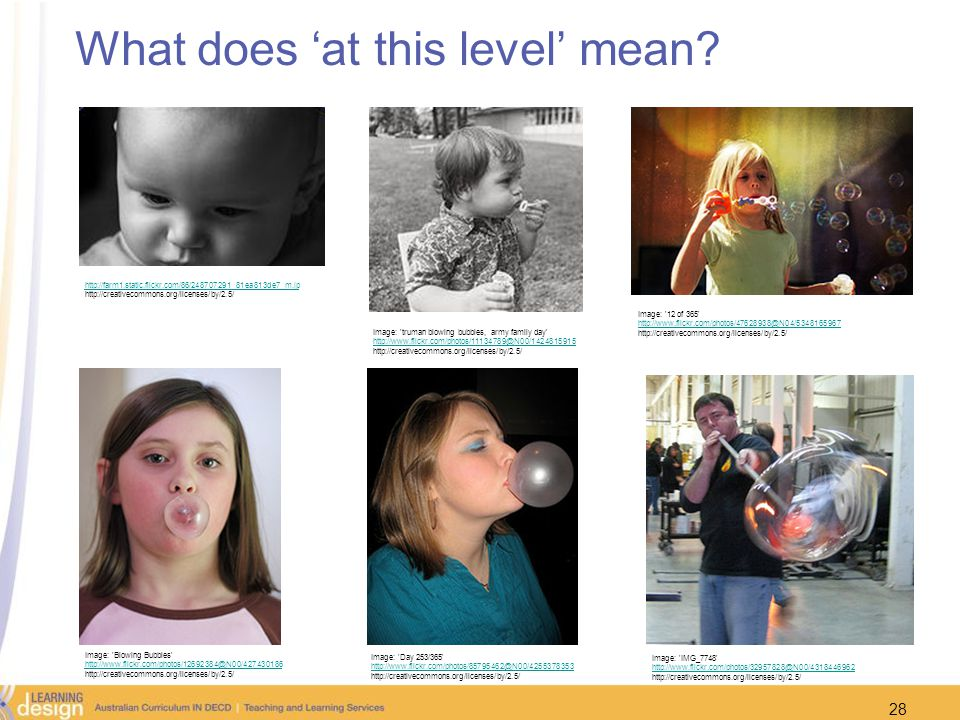 What does 'at this level' mean