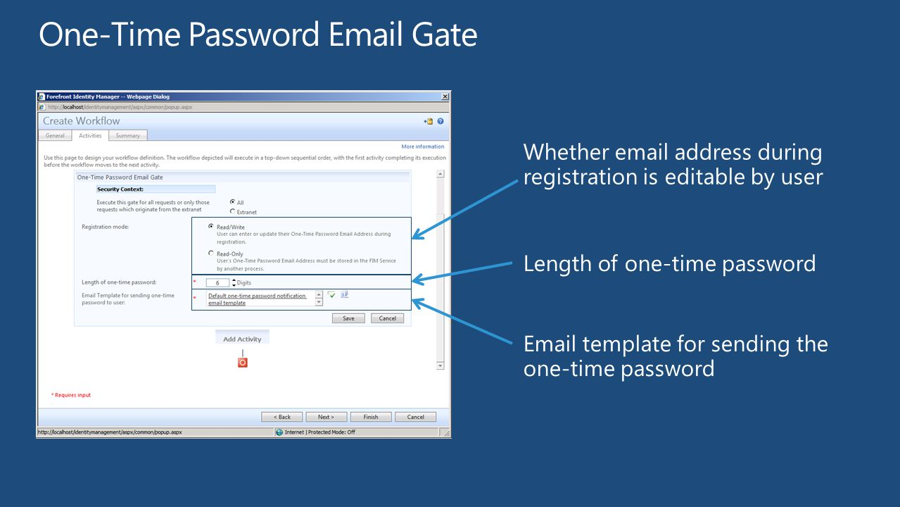 One-Time Password Email Gate