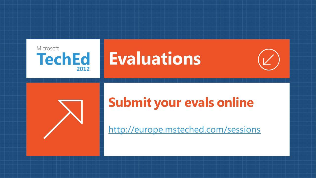 Submit your evals online