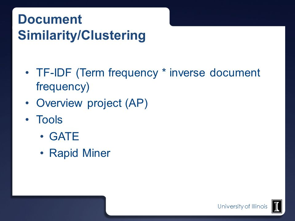 Document Similarity/Clustering