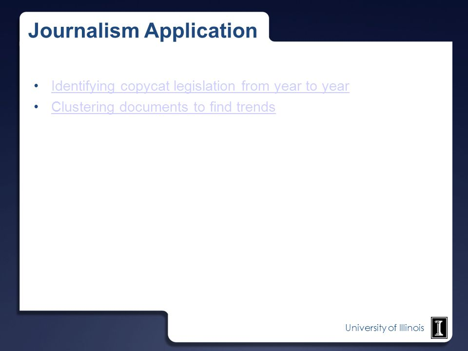 Journalism Application