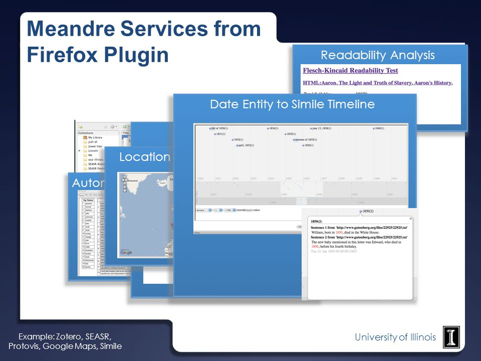 Meandre Services from Firefox Plugin