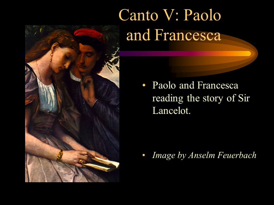 Canto V: Paolo and Francesca