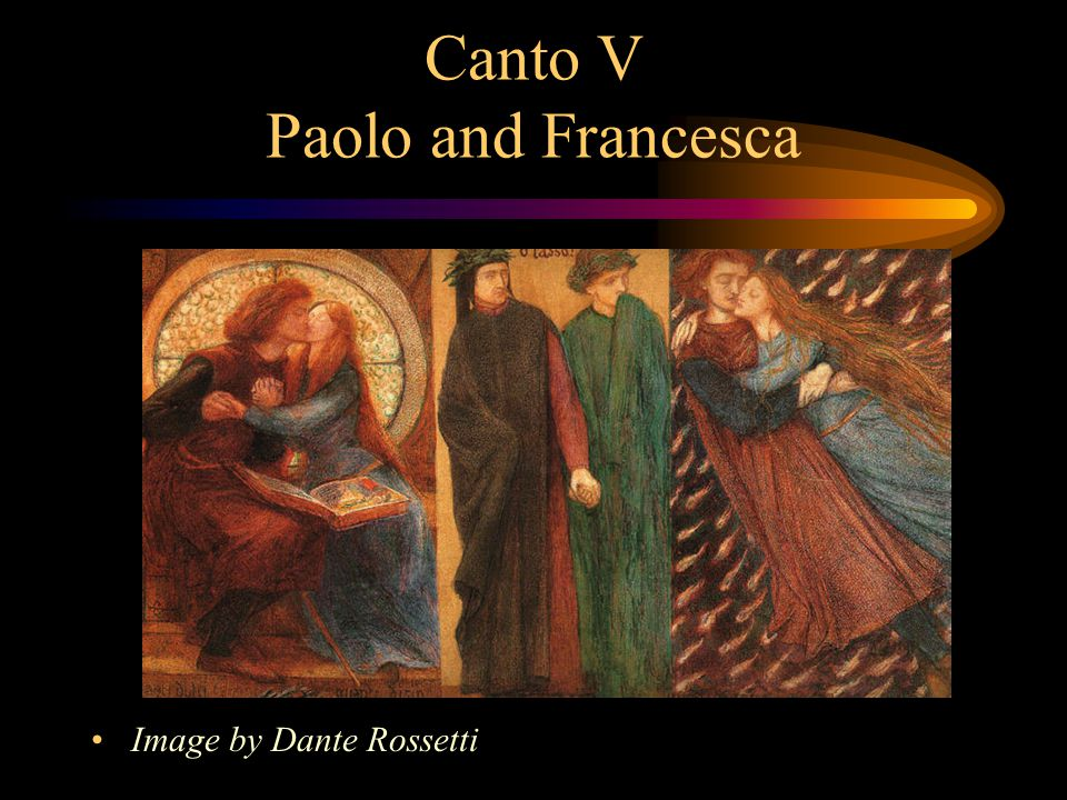Canto V Paolo and Francesca