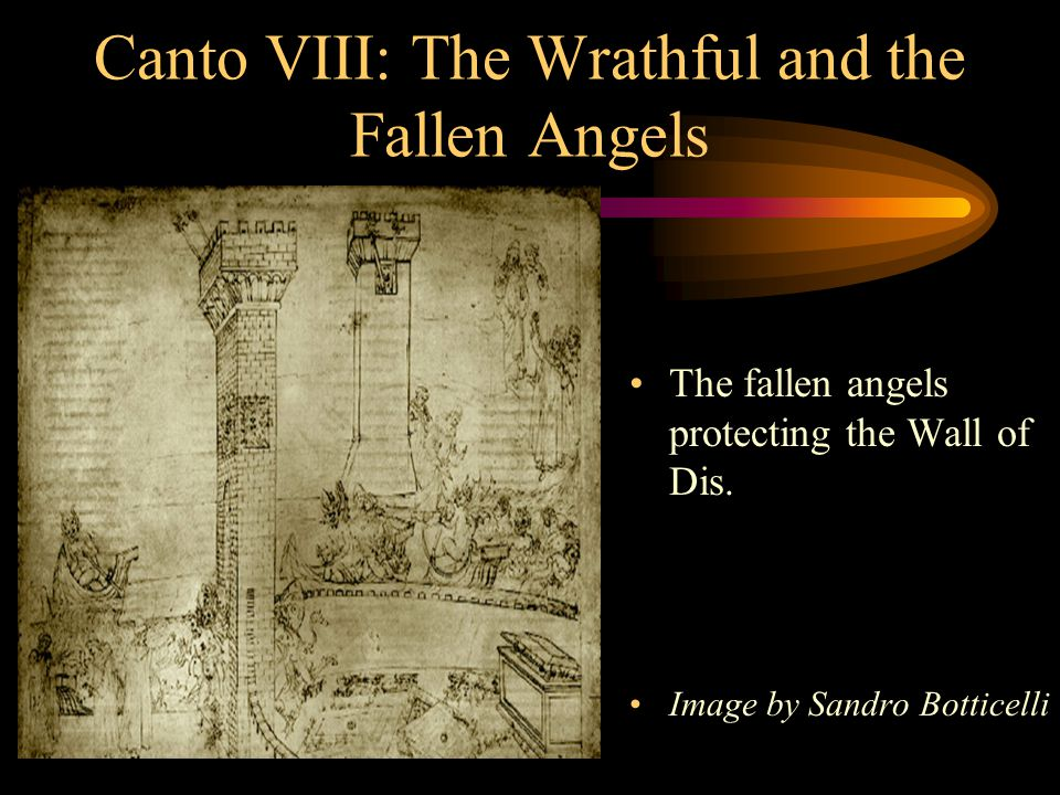 Canto VIII: The Wrathful and the Fallen Angels