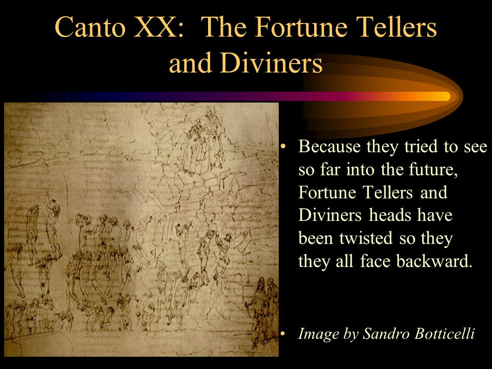 Canto XX: The Fortune Tellers and Diviners