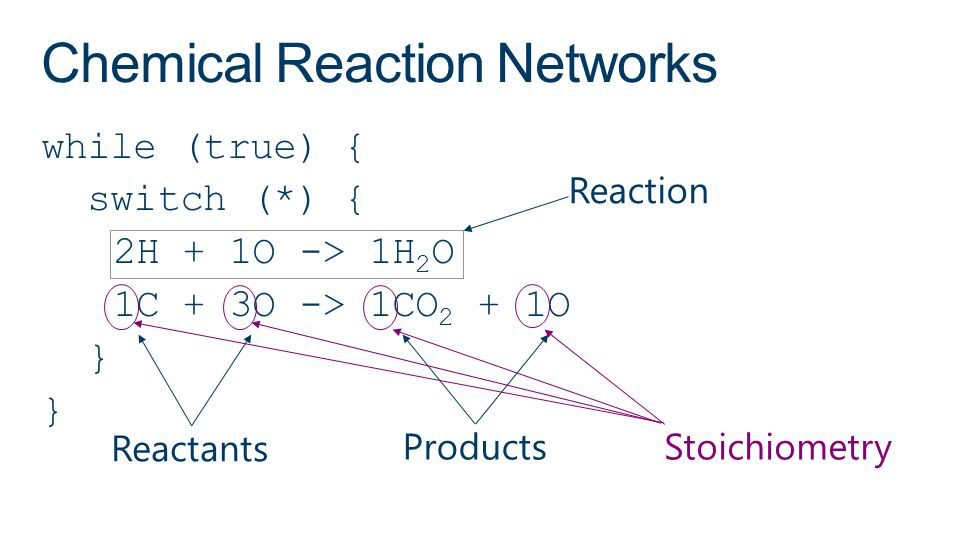 Chemical Reaction Networks