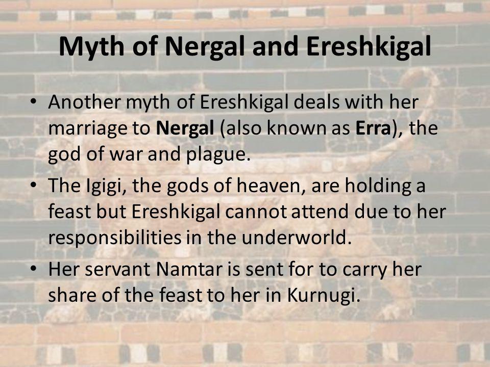 Myth of Nergal and Ereshkigal