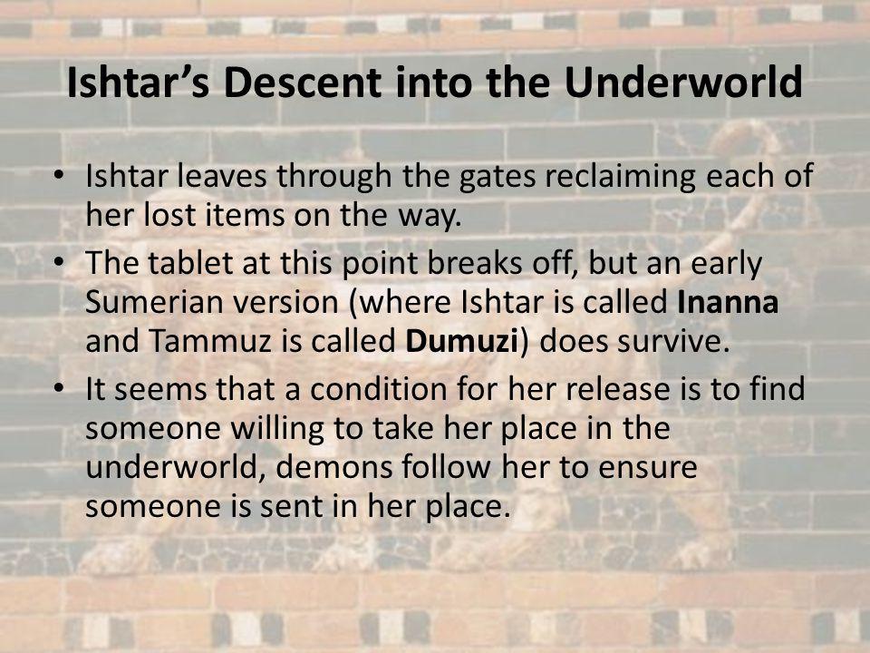 Ishtar's Descent into the Underworld