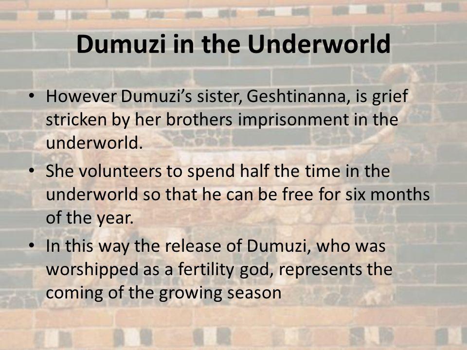 Dumuzi in the Underworld