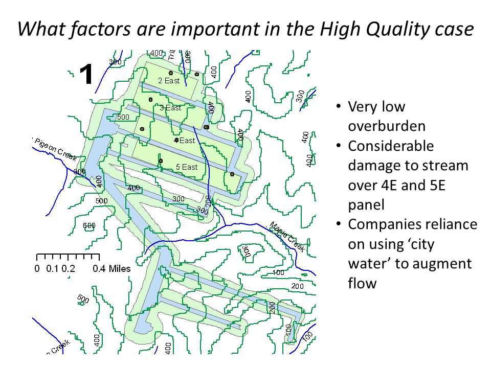 What factors are important in the High Quality case