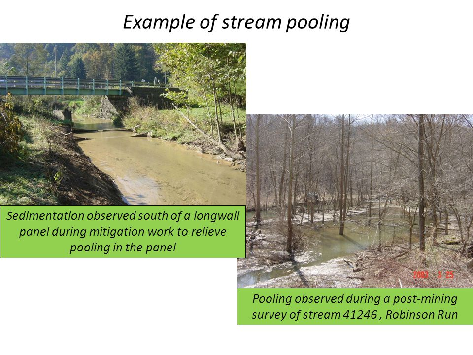 Example of stream pooling