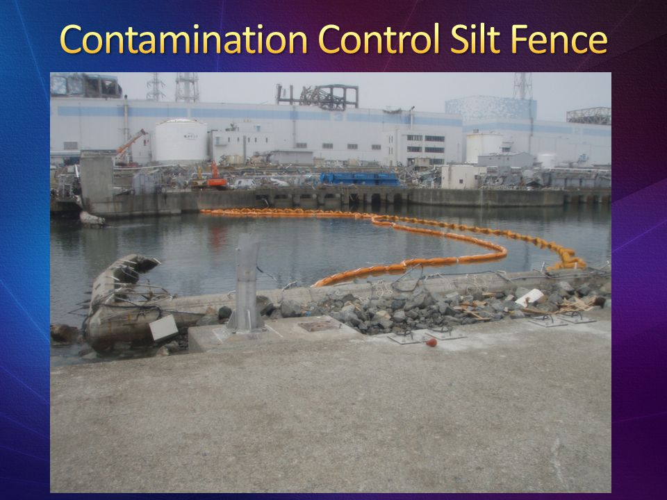 Contamination Control Silt Fence