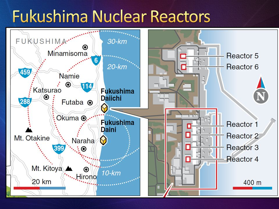 Fukushima Nuclear Reactors