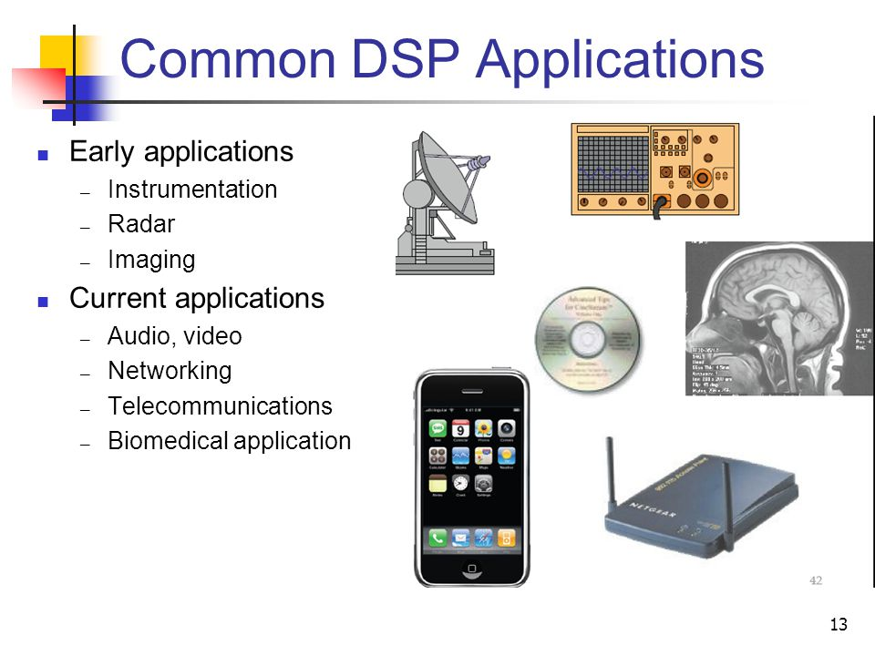 Common DSP Applications