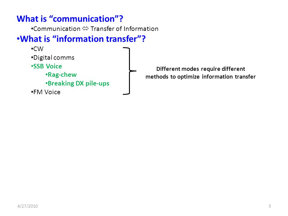 What is communication What is information transfer