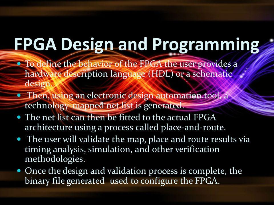 FPGA Design and Programming
