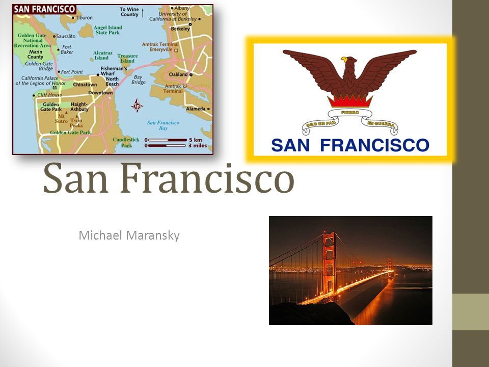 San Francisco Michael Maransky