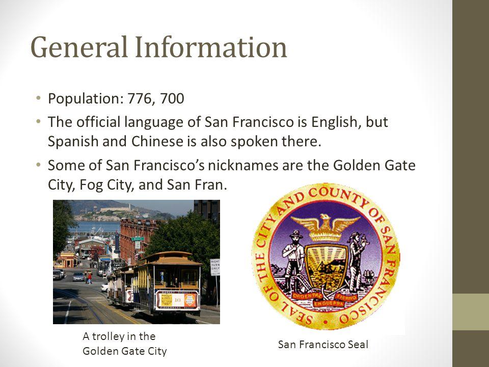 General Information Population: 776, 700