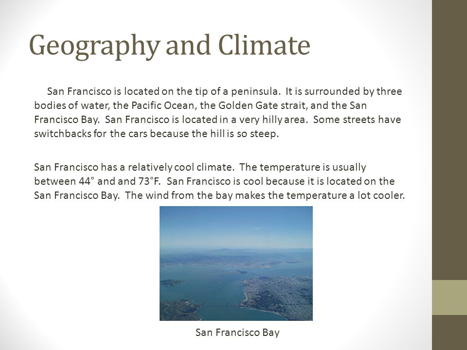 Geography and Climate