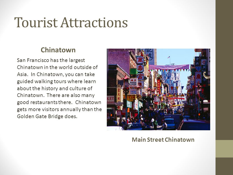 Tourist Attractions Chinatown Main Street Chinatown
