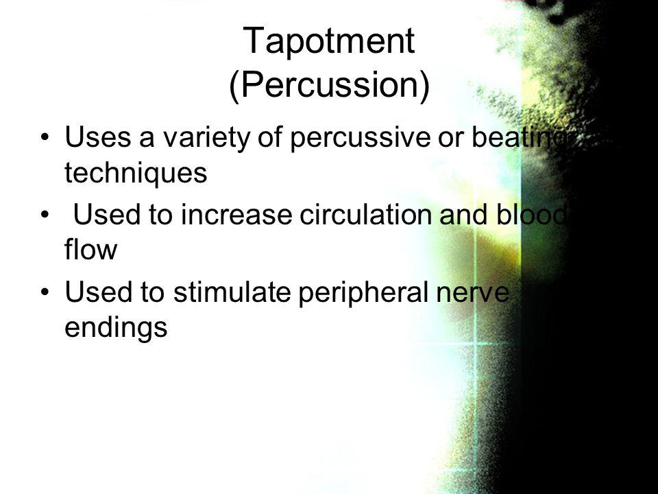 Tapotment (Percussion)