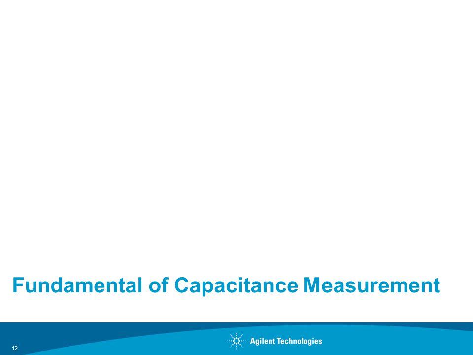 Fundamental of Capacitance Measurement