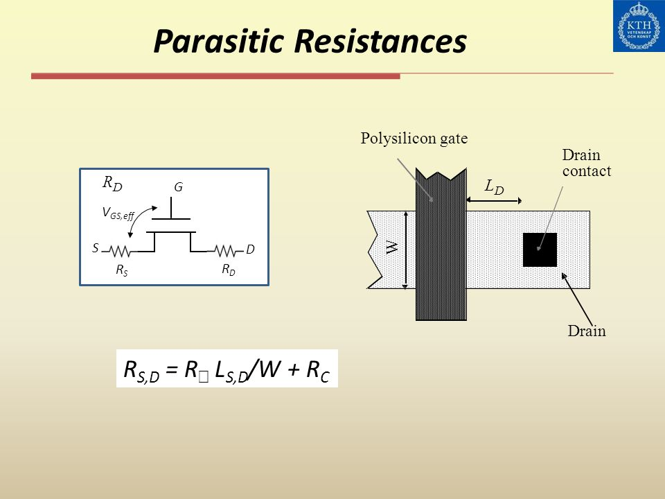 Parasitic Resistances
