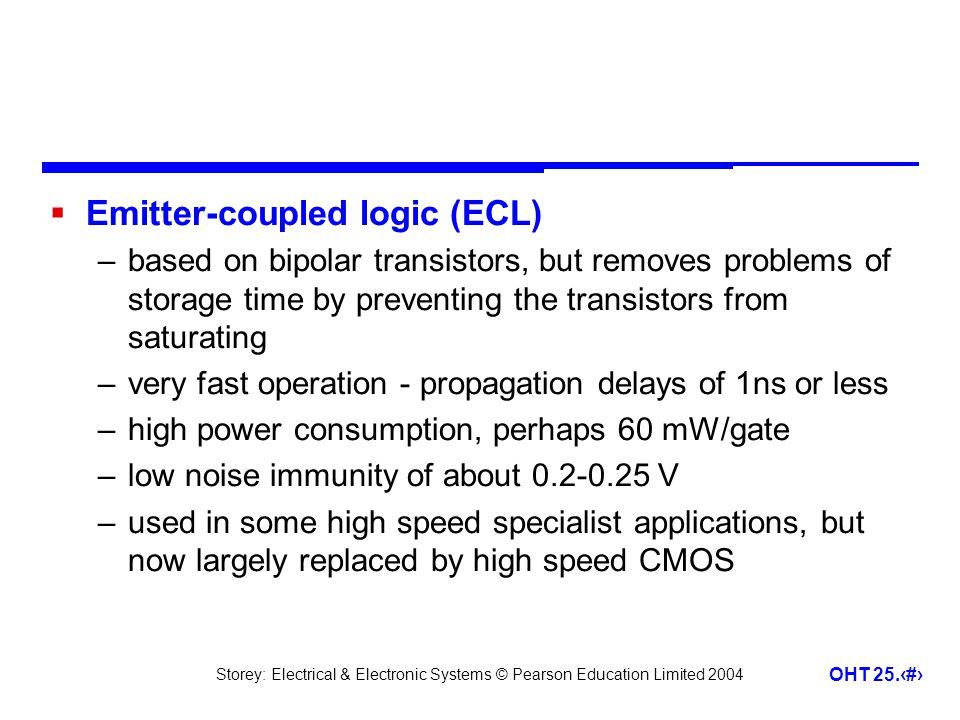 Emitter-coupled logic (ECL)