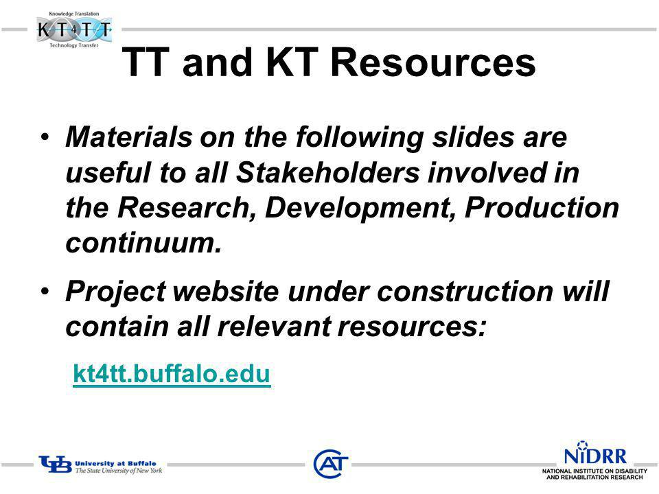 TT and KT Resources