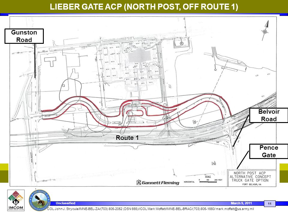LIEBER GATE ACP (NORTH POST, OFF ROUTE 1)