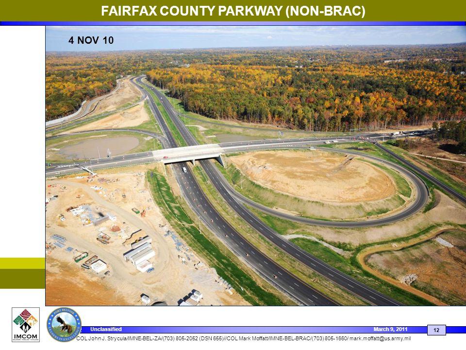 FAIRFAX COUNTY PARKWAY (NON-BRAC)