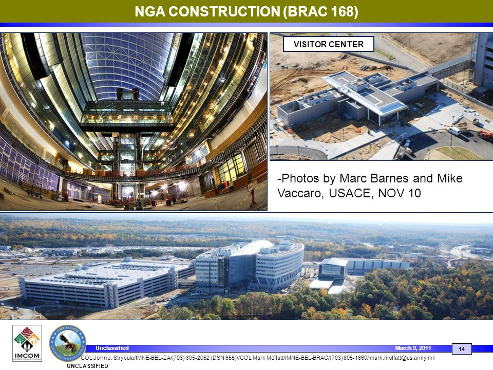 NGA CONSTRUCTION (BRAC 168)