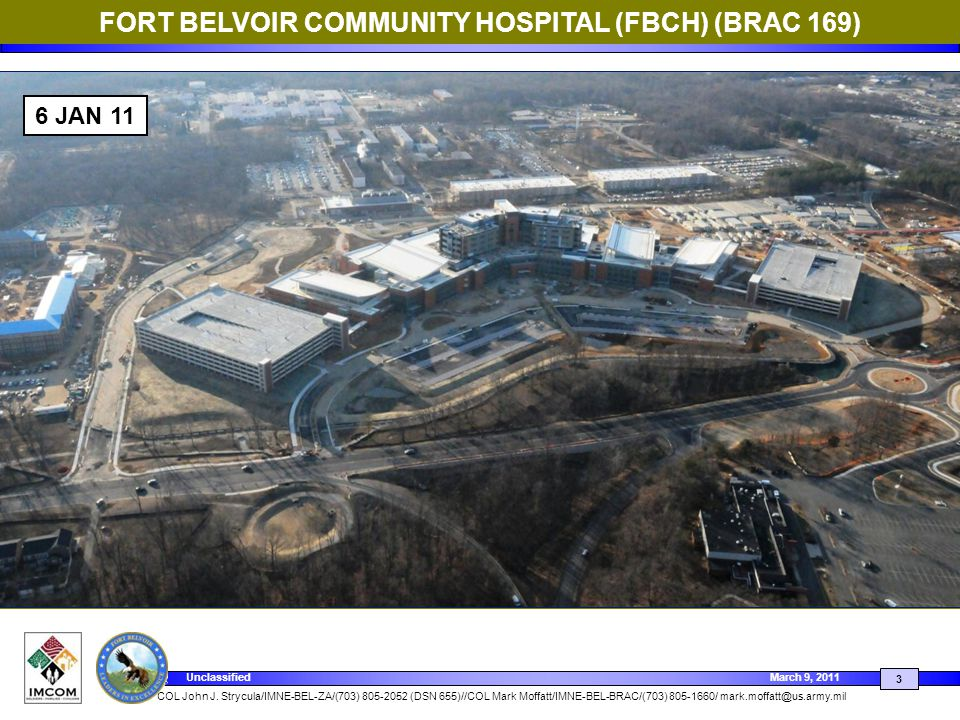 FORT BELVOIR COMMUNITY HOSPITAL (FBCH) (BRAC 169)