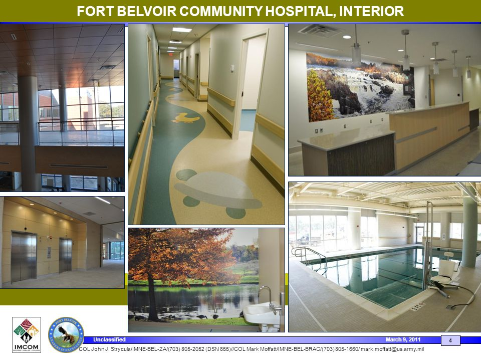 FORT BELVOIR COMMUNITY HOSPITAL, INTERIOR