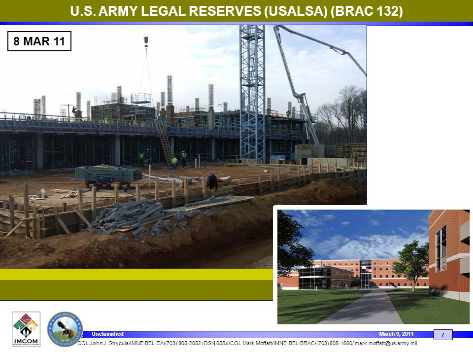 U.S. ARMY LEGAL RESERVES (USALSA) (BRAC 132)