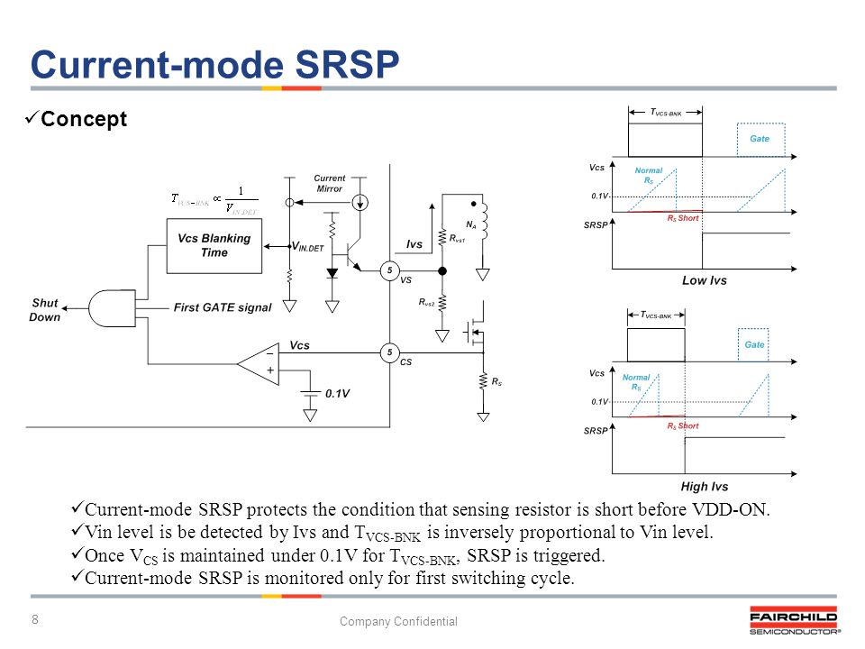 Current-mode SRSP Concept