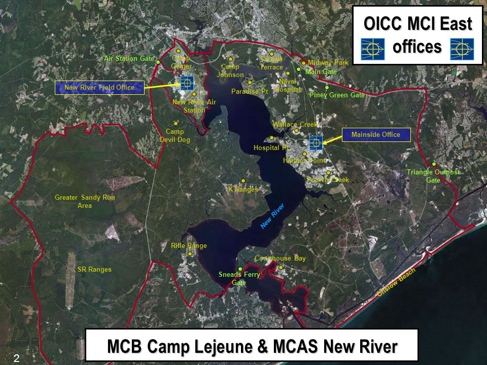 MCB Camp Lejeune & MCAS New River